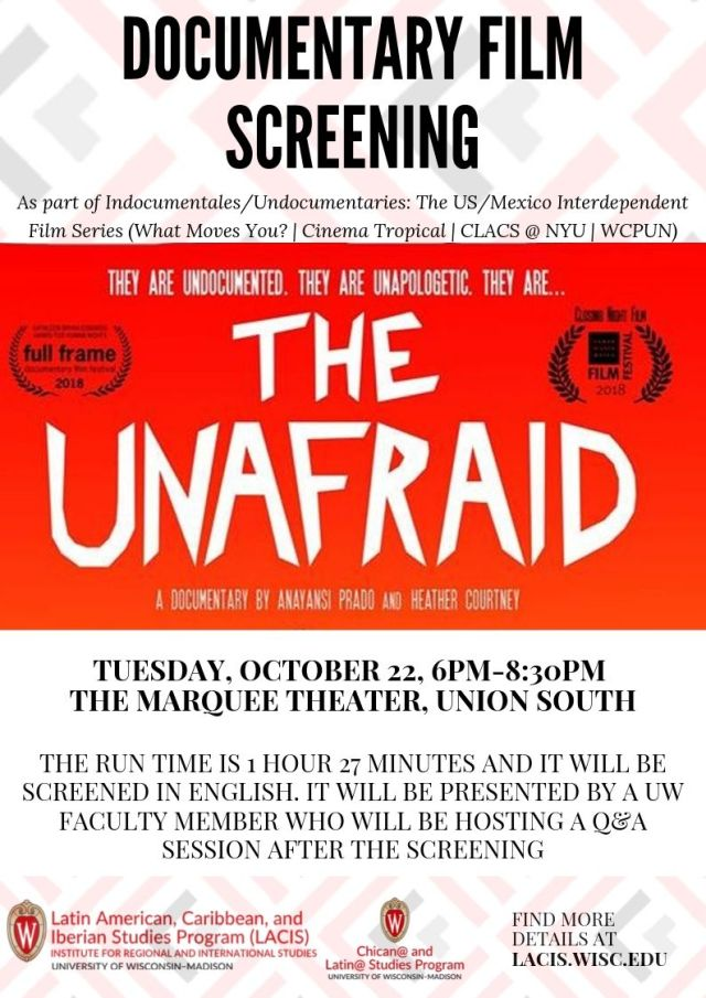 Unafraid film screening